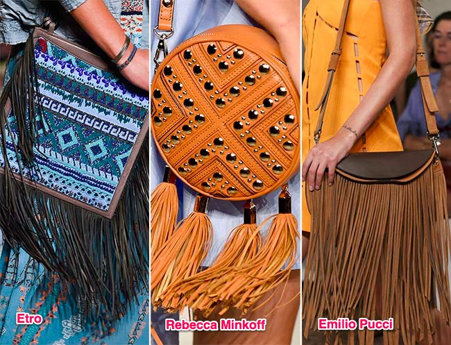 #5Fringed Bags
