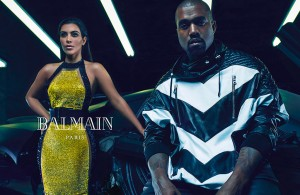 la-modella-mafia-Kim-Kardashian-and-Kanye-West-for-Balmain-Spring-2015-campaign-2
